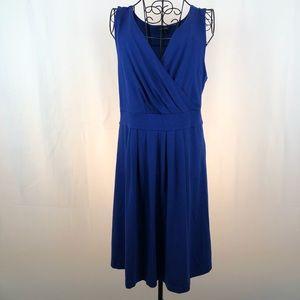 LANDS'END knit V-neck dress XLP